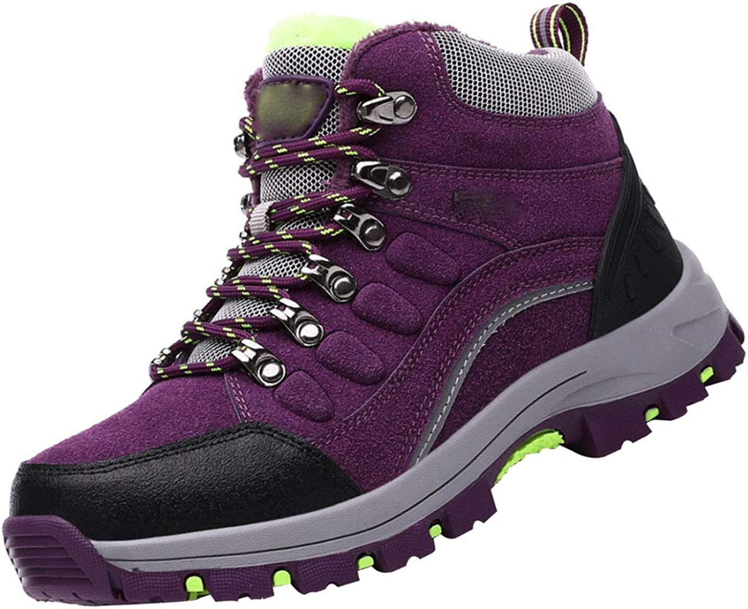 Hiking shoes Couple Models Autumn And Winter Outdoor Sports shoes Hiking shoes Non-slip Plus Cotton Warm Cotton shoes