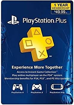 Sony PlayStation Plus 1-Yr Membership Card