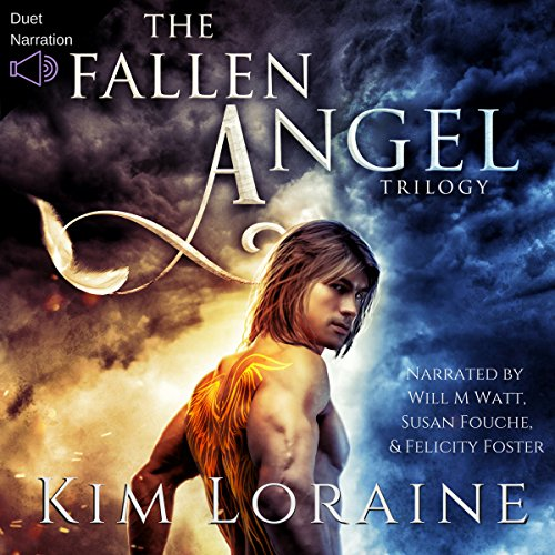 The Fallen Angel Trilogy audiobook cover art