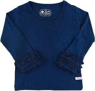 RuffleButts Little Girls Undershirt - Extra Soft Long...