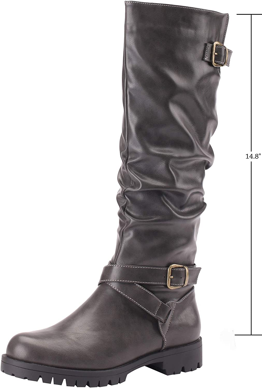 Sofree Women's Knee High Riding Boots
