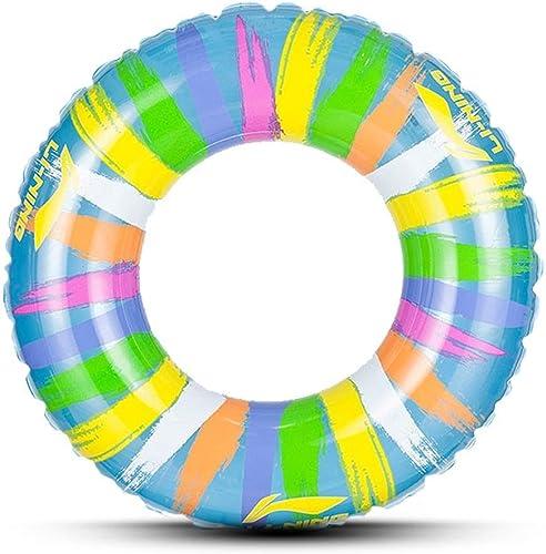 Myself-Swimming bague Eau Gonflable Adulte Anneau de Natation D'été Piscine portable Plage Flottant Piscine Décoration Adultes Enfants Couple épais PVC (3 Tailles)