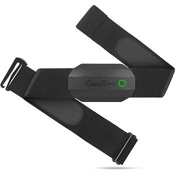 CooSpo ANT+ Heart Rate Monitor Chest Strap Bluetooth Waterproof HR Sensor for Wahoo Zwift Endomondo Map My Run Eelite Hrv DDPY Yoga Peloton Bike