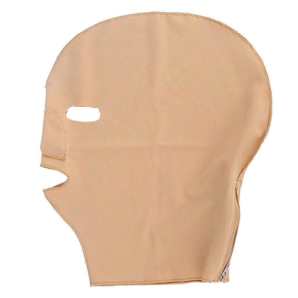 バウンドマークされた品種V字型スリーピングフェイスリフティングマスク、アンチエイジングのためのチークファーミングタイトラップ美容ストラップ(L)