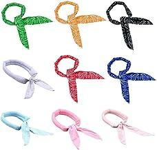 Bestevery Ice Cool sjaal, nek, 9 stuks, koelsjaal, zomer, wrap gedrenkte stropdas om de hals, Ice Cool sjaal, haarband, ba...