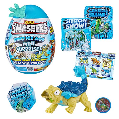 Smashers Dino Ice Age Mini Surprise Egg - Saber Tooth Tiger (7456D)
