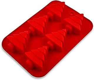 Amazon Brand – Umi - moules en silicone de Noël pour muffin, Père Noël, bonhomme de neige, sapin de Noël, étoile, enfant d...