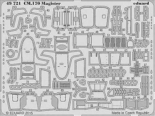 Eduard Photoetch 1 48 - CM.170 Magister S.A (A-AMK88004) by Eduard