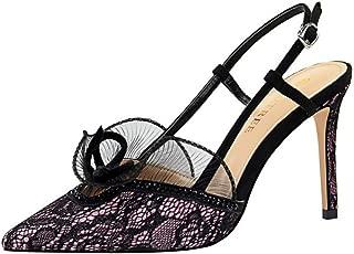 Zanpa Women Fashion Shoes Stiletto Heels Sandals Slingback