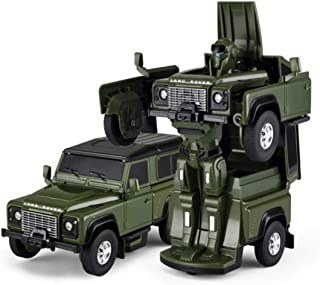 Rastar 1:32 Scale Licensed And Authorized Land Rover Defender Transformers Version Die Cast Sports Car