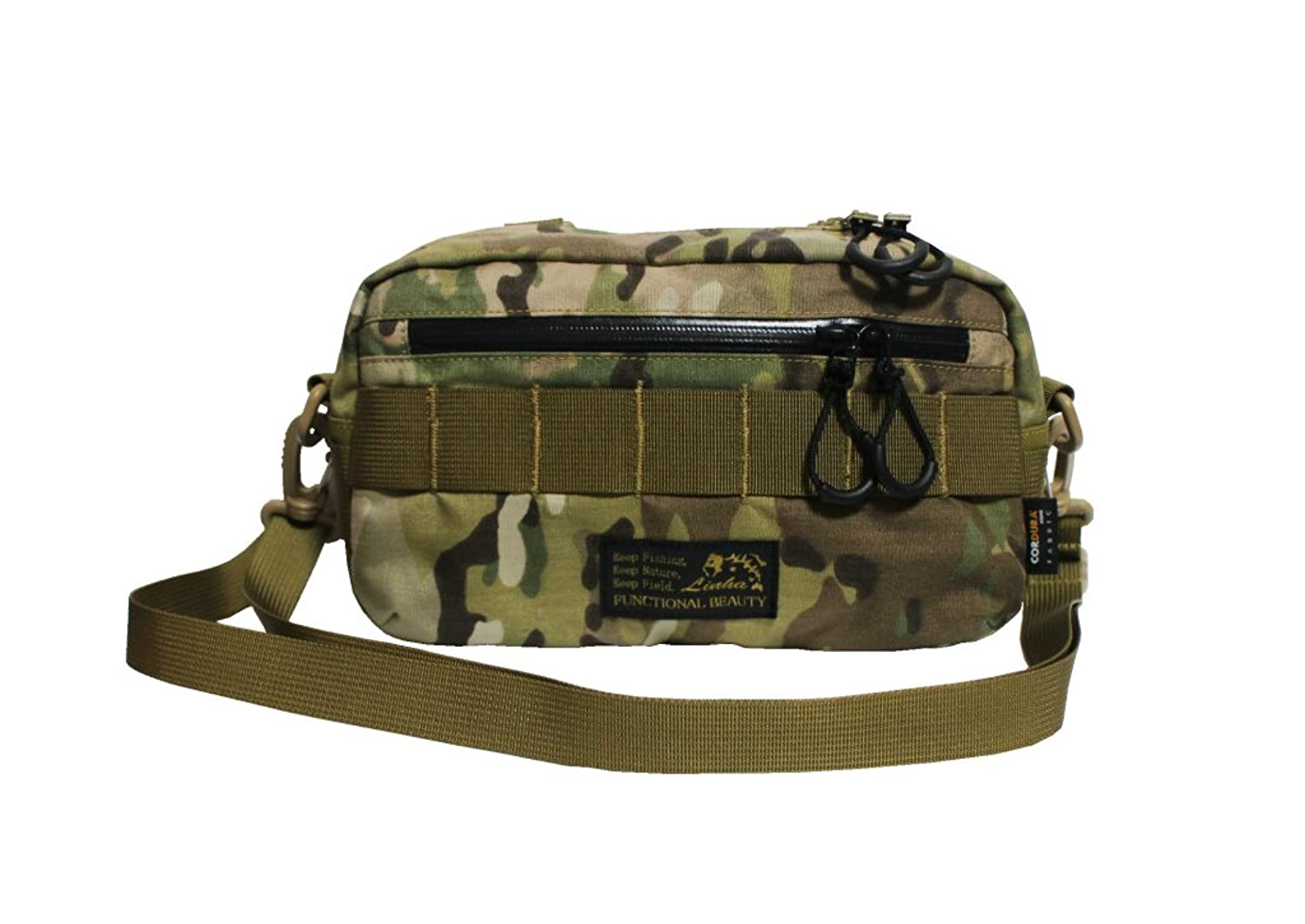 LINHA(リーニア) ATTACHMENT POUCH M TYPEIII MSB-10N CAMO(カモ)