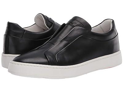 Santoni Pass Sneaker (Black) Men