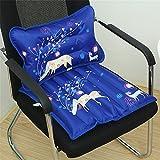 LL-COEUR 1pc Aufblasbares oder Wassergefülltes Kopfkissen + 1pc Auto-Sitz-Kissen Stuhl für Kühl...