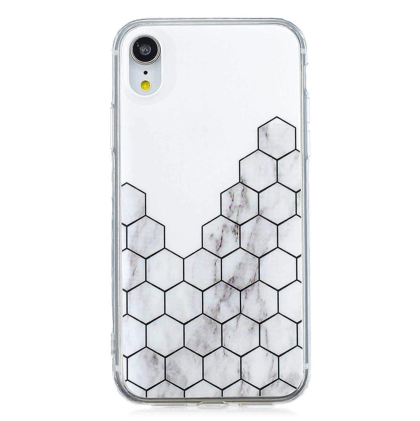 方言どう?添加剤iPhone XR ソフト ケース, CUNUS Apple iPhone XR ケース TPU シリコン スリム 薄型 耐摩擦 耐衝撃 スマホケース, 新品 高級 ケース, 模様3