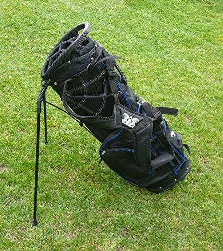 """Yorrx® Golfbag """"Easy One"""" – Carrybag/Standbag mit Regenschutzcover (EINFÜHRUNGSAKTION)"""