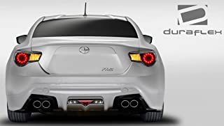 Extreme Dimensions Duraflex Replacement for 2013-2020 Scion FR-S Toyota 86 Subaru BRZ TD3000 Rear Lip Under Spoiler Air Dam - 1 Piece