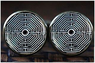 Gemelos laberintos, gemelos de geometría sagrada,