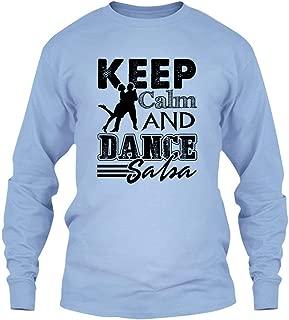 Keep Calm and Dance Salsa Shirt, Long Sleeve Shirt Design