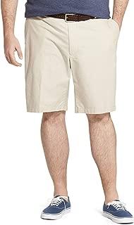 Men's Big and Tall Breeze Flat Front Oxford Short