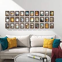 GJNVBDZSF Conjunto de molduras para fotos, 30 peças, conjunto de molduras para galeria de parede, combinação de decoração ...