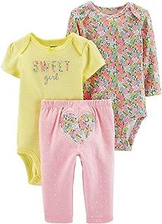 Baby Girls' 3 Pc Back Art 126g460