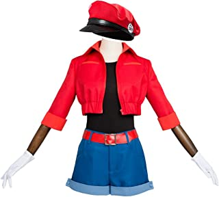Anime Cells at Work! Erythrocite Red Blood Cell Cosplay Costume Halloween Carnival Outfit