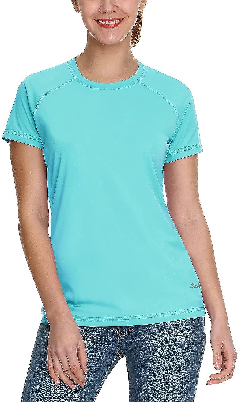 BALEAF Women's Short Sleeve Shirts UPF 50+ UV Sun Protection T-Shirt Outdoor Performance Quick Dry Sunshirts