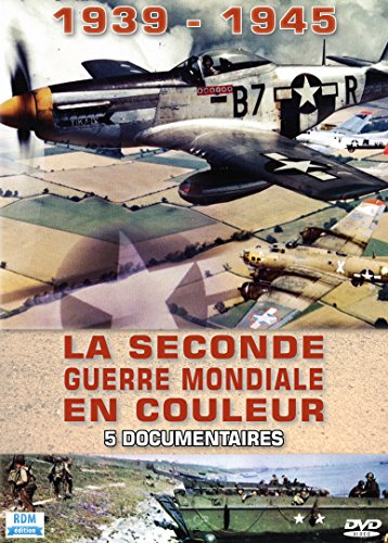 La Seconde Guerre Mondiale en Couleur : 5 documentaires-1939-1945 / Coffret 5 DVD