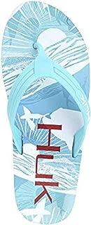 Huk Women's Flipster Sandals & Cooling Towel Bundle