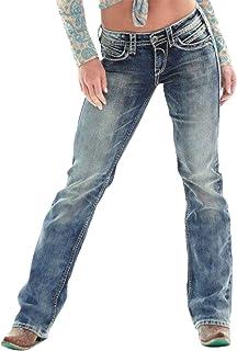 Letuwj - Mujer Straight Fit Vintage Jeans de Primavera