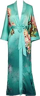 KIM+ONO Women's Kimono Robe Long - Watercolor Floral