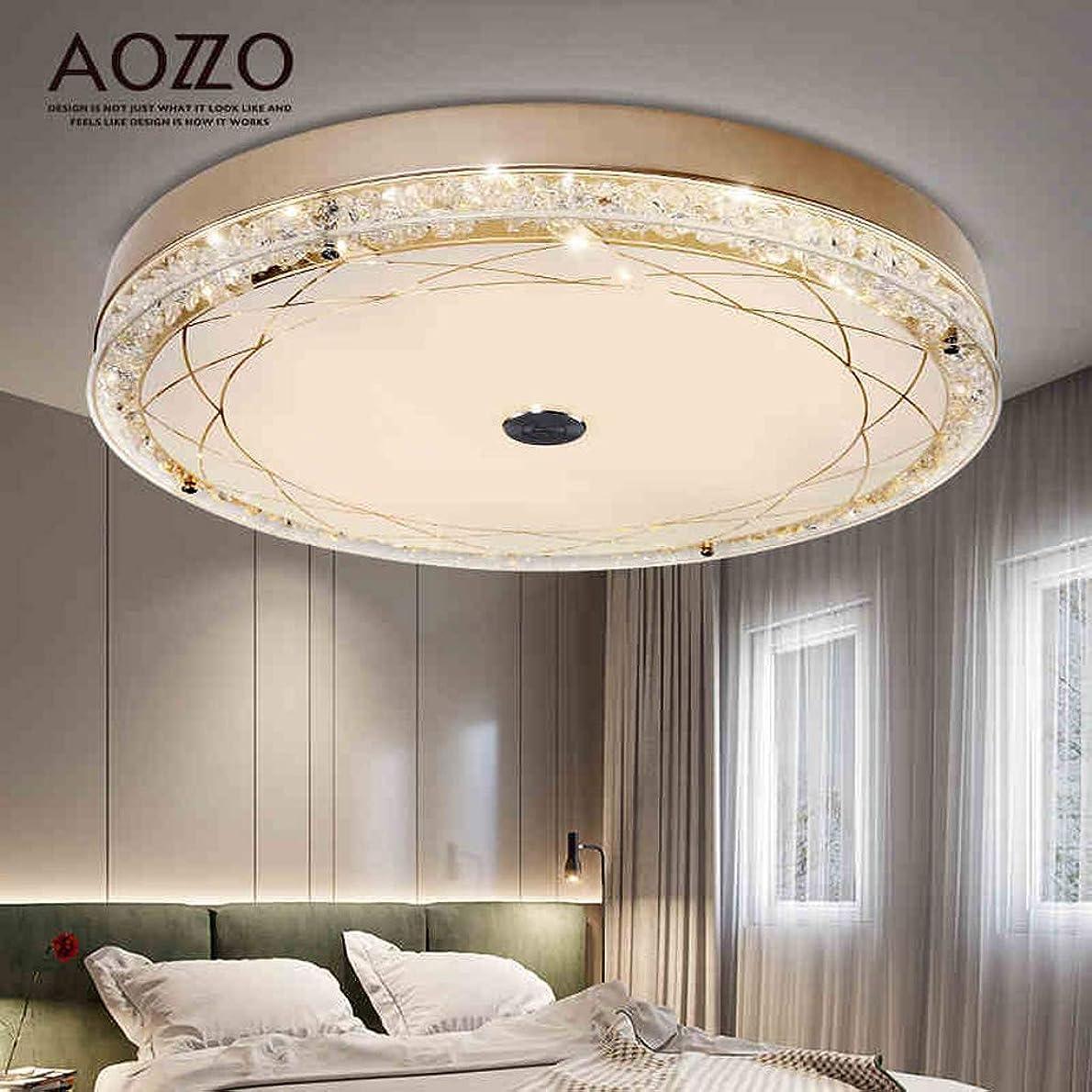許容できる火薬信頼性のあるQY 光 クリスタルランプラウンドは、天井ランプのリビングルームの照明をシンプルでモダンな寝室のライト暖かくロマンチックな創造的な照明