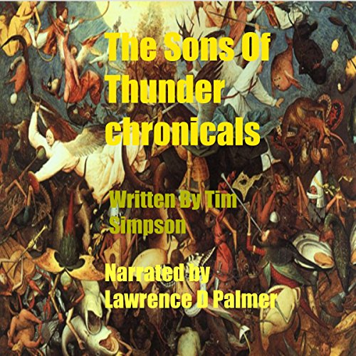 The Sons of Thunder Chronicles audiobook cover art