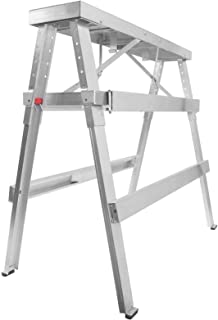 GypTool Adjustable Height Drywall Taping & Finishing Walk-Up Bench: 18 in. - 44 in.
