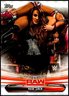#53 nia Jax 2019 Topps WWE Raw Wrestling Walker