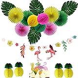 Easy JoyDecoración de Cumpleaños, Fan Pompom Tarjeta para Cumpleaños Fiesta...