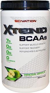Scivation XTend BCAAs Diet Supplement Green Apple, 14.0 oz.