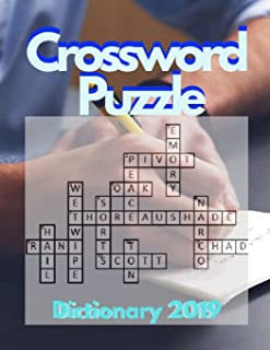Crossword Puzzle Dictionary 2019: Brain Games - Crossword Puzzles - Large Print, Games for Every Day quick crossword collection puzzle book brain (USA Today Puzzles)