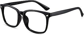 Cyxus Blue Light Blocking Computer Glasses, Patented Anti Blue Light Lens, Anti UV 400, Relieve Digital Eye Strain, Classic Square Eyeglasses Frame