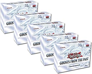 Realgoodeal YuGiOh Ghosts from The Past Display Box (5 Mini Boxes) PRE Sale Ship 4/16/2021