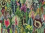 OVINEE Puzzle de 1000 Piezas,Rompecabezas de Planta mágica Hoja(Rompecabezas para Niños y Adultos, 14-70 año(s))