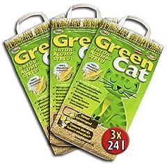 Green Cat 6x12 =72 Liter