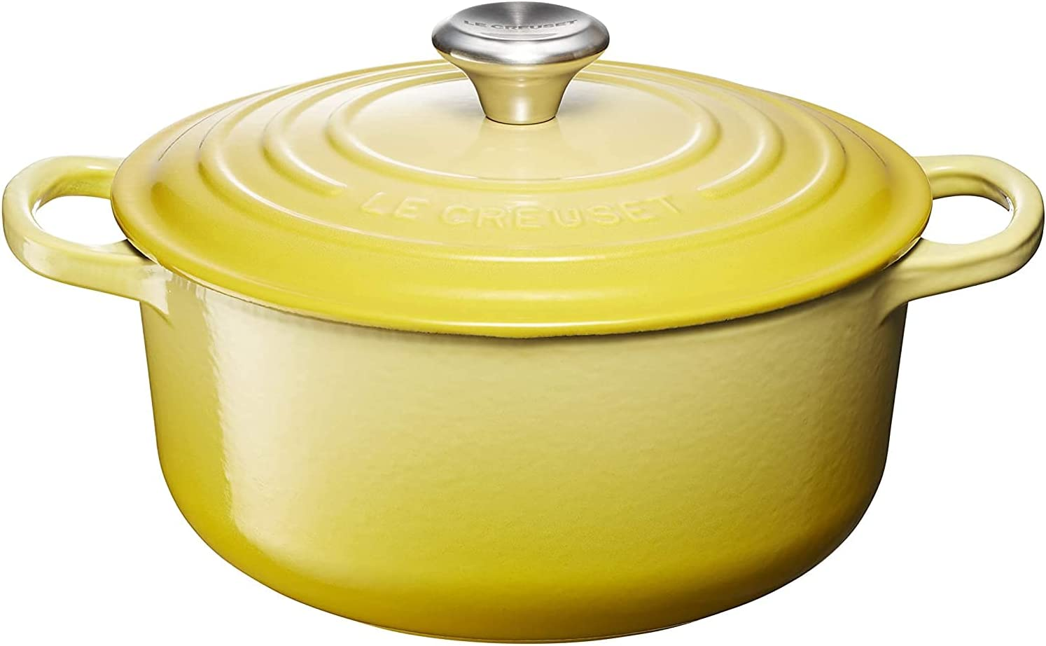 low-pricing Le Creuset Signature Cast Iron free shipping Round 20 cm Casserole Soleil -