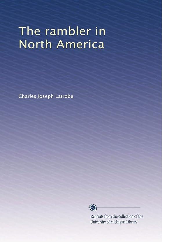 絞る手紙を書く部屋を掃除するThe rambler in North America (Vol.1)