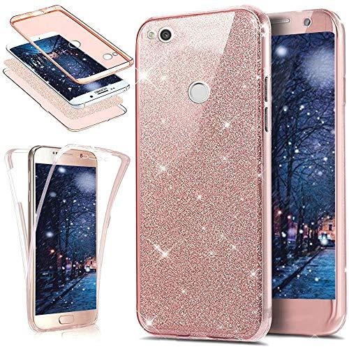 Funda Huawei P8 Lite 2017,ikasus Brillantes Lentejuelas Estrella Brillo...
