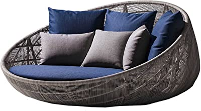 Bali Day Bed Outdoor Garden Furniture Set with Canopy