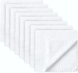 8 Pack Large Burp Cloths for Baby - 20