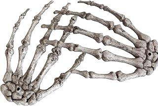 XONOR Mains squelettiques de Halloween - Mains Squelette en Plastique coupées de Taille réaliste pour Accessoires de décor...