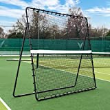 RapidFire Mega Tennis Rebounder | Groundstroke & Volleying Practice (Small Or Large) | Solo Tennis Trainer | Tennis Practice Rebounder | Tennis Net for Training