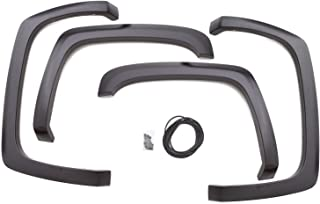 Lund SX106T Elite Series Black Sport Style Textured Front and Rear Fender Flare - 4 Piece